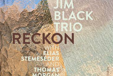 Jim Black Trio<br/>Reckon<br/>Intakt, 2020