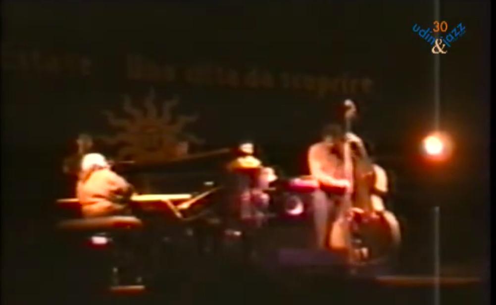 Online il video dello storico concerto del 1994 di Michel Petrucciani a Udin&Jazz