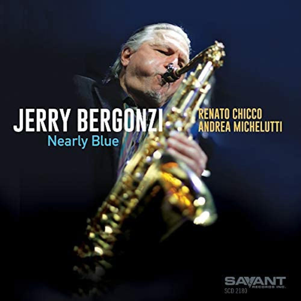 Jerry Bergonzi<br/>Nearly Blue<br/>Savant, 2020