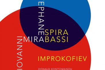 Stéphane Spira, Giovanni Mirabassi<br/> Improkofiev<br/>Jazzmax, 2020