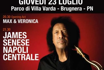 James Senese Napoli Centrale - Blues in Villa 2020