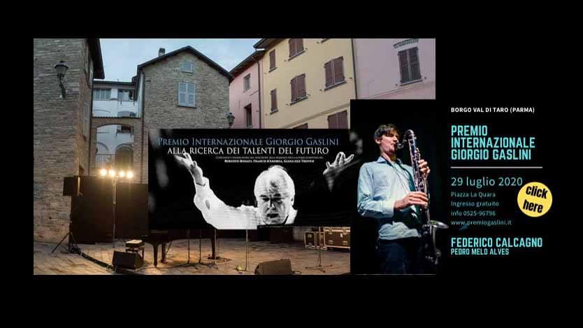 L'Estate del jazz ai tempi del Coronavirus – Premio Internazionale Giorgio Gaslini