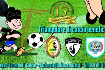 Il triangolare benefico della Nazionale Italiana Jazzisti