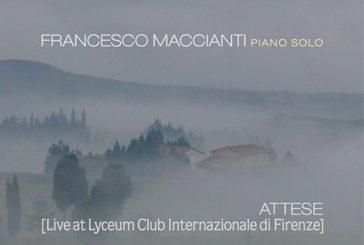 Francesco Maccianti<br/>Attese: Live at Lyceum<br/>Abeat, 2020