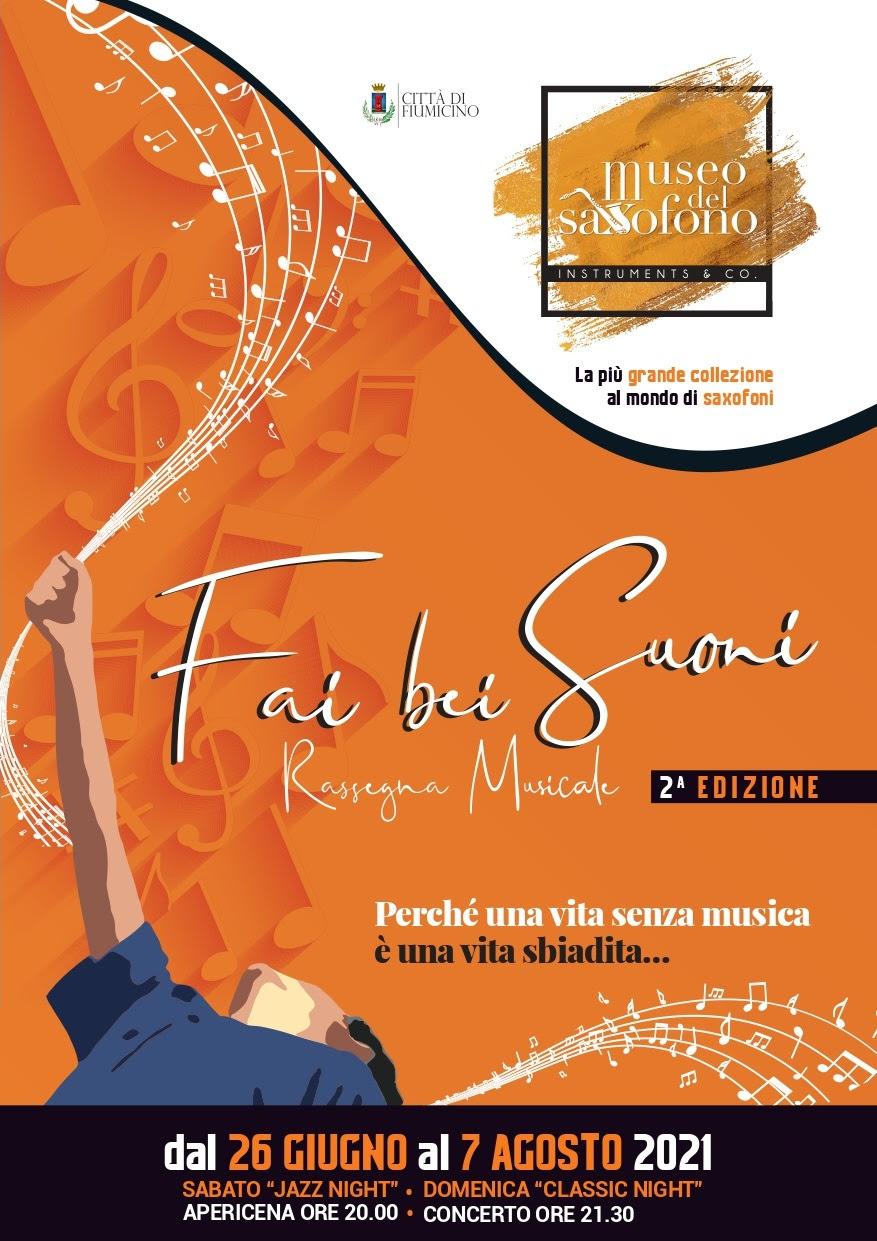 """Museo del Saxofono – Rassegna estiva """"Fai bei suoni"""""""
