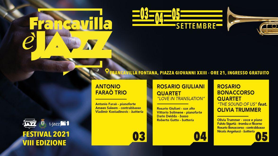 Francavilla è Jazz 2021 – VIII edizione