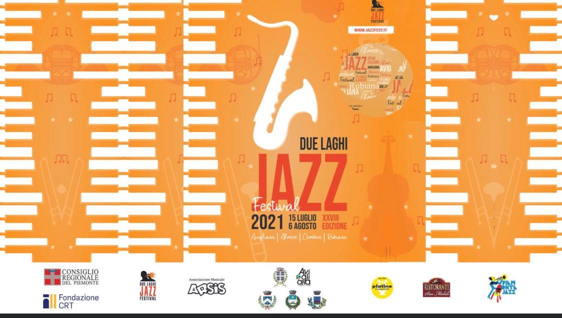 Due Laghi Jazz Festival 2021 – XXVIII Edizione