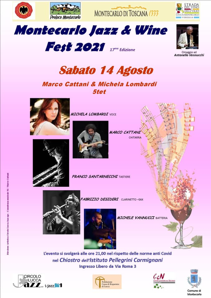 Montecarlo Jazz & Wine Fest 2021